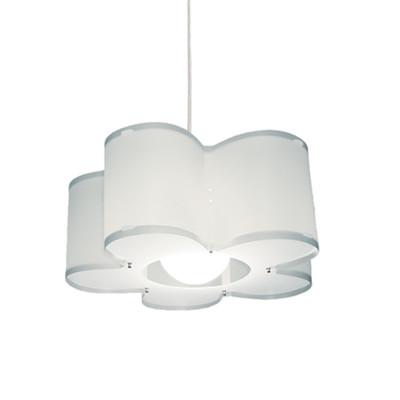 Artempo - Sospensioni in Polilux - Silu SP - Lampada a sospensione design - Bianco satinato - LS-AT-050-B