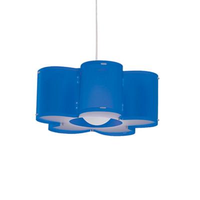 Artempo - Sospensioni in Polilux - Silu SP - Lampada a sospensione design - Polilux Blu - LS-AT-050-BLU
