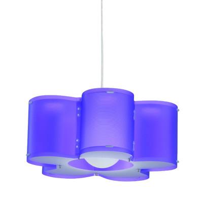 Artempo - Sospensioni in Polilux - Silu SP - Lampada a sospensione design - Polilux Viola  - LS-AT-050-VIO