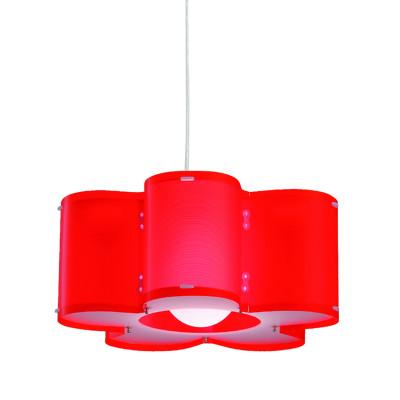Artempo - Sospensioni in Polilux - Silu SP - Lampada a sospensione design - Rosso - LS-AT-050-R