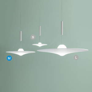 Axo Light - Cloudy&Manto - Man 120 SP LED - Lampadario di design medio