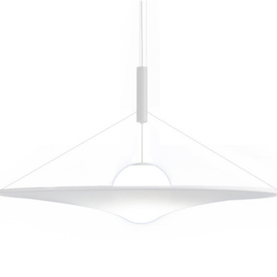 Axo Light - Cloudy&Manto - Man 180 SP LED - Lampadario di design grande - Bianco - LS-AX-SPMAN180GRXXLED - Bianco caldo - 3000 K - Diffusa
