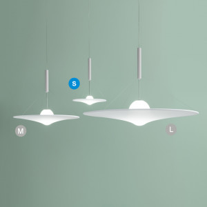 Axo Light - Cloudy&Manto - Man 70 SP LED - Lampadario di design piccolo