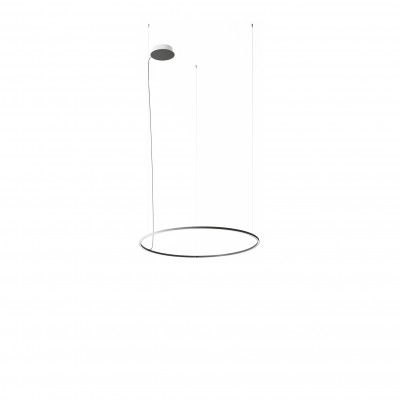 Axo Light - Thin - U-Light A 120 SP LED - Lampadario moderno - Grigio - LS-AX-SPULA120LED - Bianco caldo - 3000 K - Diffusa