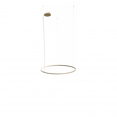 Axo Light - Thin - U-Light A 120 SP LED - Lampadario moderno - Ruggine - LS-AX-SPULA120LEDRUXX - Bianco caldo - 3000 K - Diffusa