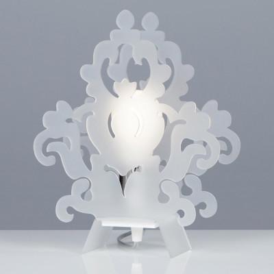 Emporium - Amarilli - Amarilli table - Lampada da tavolo - Bianco satinato - LS-EM-CL485-12