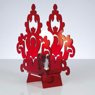 Emporium - Amarilli - Amarilli table - Lampada da tavolo - Rosso - LS-EM-CL485-51