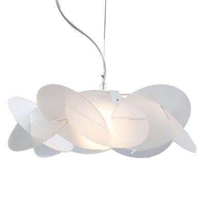 Emporium - Bea - Bea maxi - Lampada a sospensione - Bianco satinato - LS-EM-CL526-12