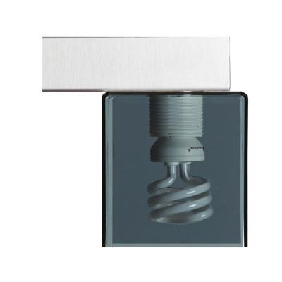 Emporium - Didodado - Didodado applique - Lampada da parete - Fumé - LS-EM-CL446-98