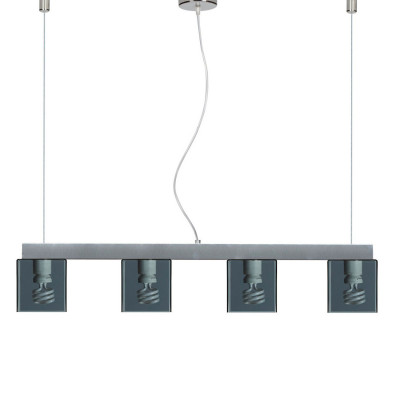 Emporium - Didodado - Didodado barra 1 - Lampada a sospensione - Fumé - LS-EM-CL447-98