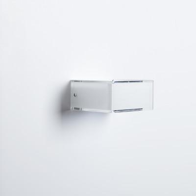 Emporium - Domino - Domino AP 1 - Lampada a parete 1 luce - Bianco - LS-EM-CL577-10