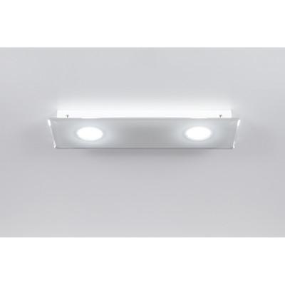 Emporium - Domino - Domino PL 2 - Plafoniera a due luci - Bianco - LS-EM-CL584-10