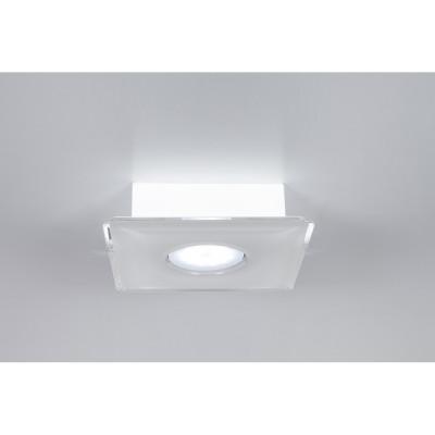 Emporium - Domino - Domino PLQ 1 - Plafoniera quadrata a una luce