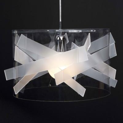 Emporium - Kartika - Bibang - Lampada a sospensione - Bianco satinato - LS-EM-CL418-12