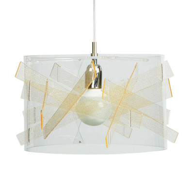Emporium - Kartika - Bibang - Lampada a sospensione - Texture Gold - LS-EM-CL417-58