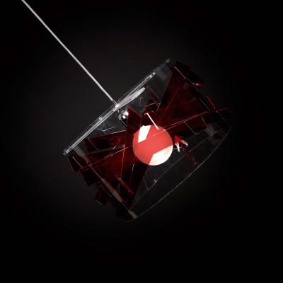 Emporium - Kartika - Bibang maxi - Lampada a sospensione - Rosso - LS-EM-CL528-51