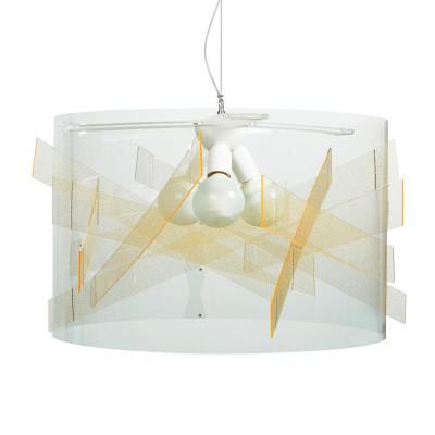 Emporium - Kartika - Bibang maxi - Lampada a sospensione - Texture Gold - LS-EM-CL529-58