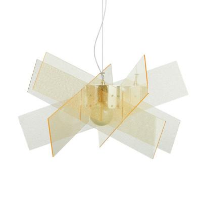 Emporium - Kartika - Kartika B - Lampada a sospensione - Texture Gold - LS-EM-CL140-58
