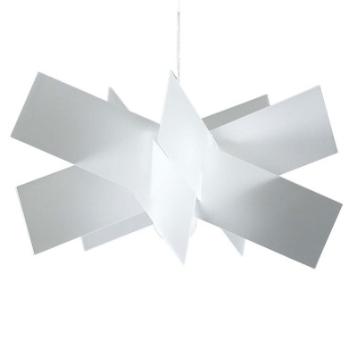 Emporium - Kartika - Kartika S - Lampada a sospensione - Bianco satinato - LS-EM-CL137-12