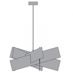 Emporium - Kartika - Kartika S - Lampada a sospensione