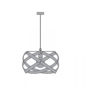 Emporium - Nuclea - Nuclea maxi - Lampada a sospensione