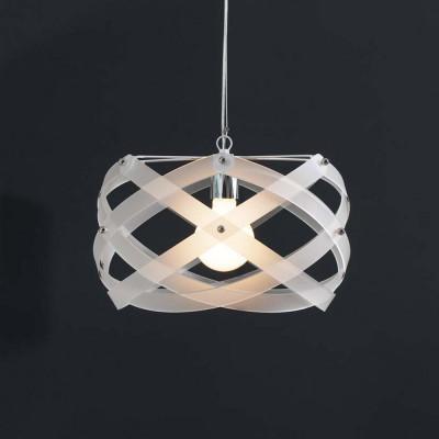 Emporium - Nuclea - Nuclea mini - Lampada a sospensione - Bianco satinato - LS-EM-CL127-12
