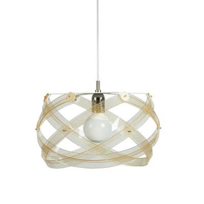 Emporium - Nuclea - Nuclea mini - Lampada a sospensione - Texture Gold - LS-EM-CL130-58