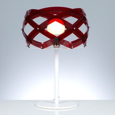 Emporium - Nuclea - Nuclea table - Lampada da tavolo - Rosso - LS-EM-CL490-51