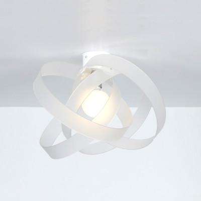 Emporium - Nuvola - Nuvola PL - Lampada da soffitto o da parete - Bianco satinato - LS-EM-CL591-12