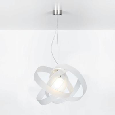 Emporium - Nuvola - Nuvola SP - Lampada a sospensione di design - Bianco satinato - LS-EM-CL602-12