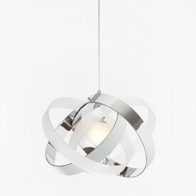 Emporium - Nuvola - Nuvola SP - Lampada a sospensione di design - Bicolor bianco satinato/cromolite - LS-EM-CL880-95