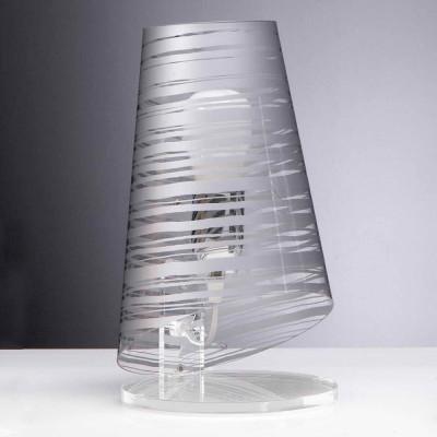 Emporium - Pixi - Pixi mini - Lampada da comodino - Argento - LS-EM-CL401-33