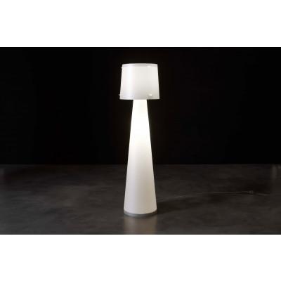Emporium - Quandra - Diva - Lampada da terra - Bianco - LS-EM-CL435-10