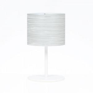 Emporium - Rigatone - Rigatone TL M - Lampada da tavolo con paralume circolare