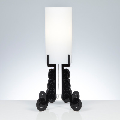 Emporium - Truciolo - Truciolo B - Lampada da tavolo - Nero - LS-EM-CL190-05