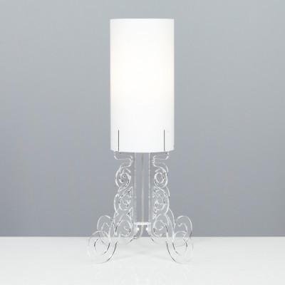 Emporium - Truciolo - Truciolo B - Lampada da tavolo - Trasparente - LS-EM-CL190-11