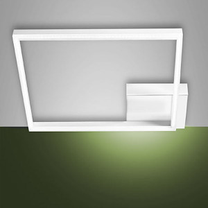 Fabas Luce - Bard - Bard LED PL L - Plafoniera moderna quadrata