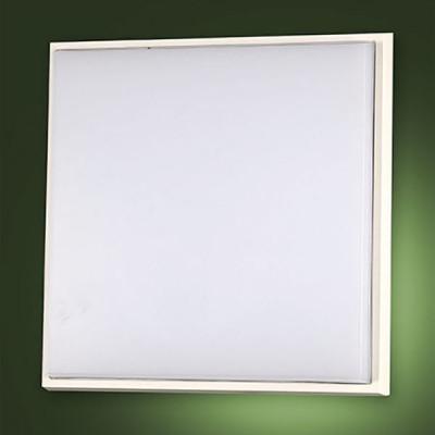 Fabas Luce - Desdy - Desdy LED PL L - Plafoniera quadrata grande - Nessuna - LS-FL-3314-65-102 - Bianco caldo - 3000 K - Diffusa