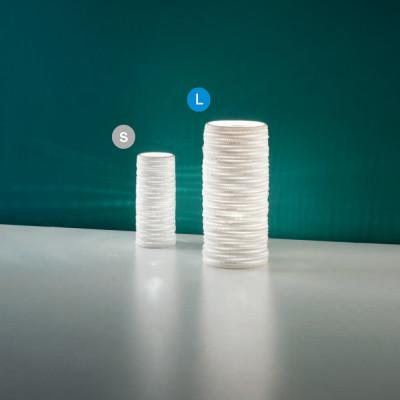 Fabas Luce - Fabas News 2019 - Marbella TL L - Lampada da tavolo di design - Bianco - LS-FL-3527-35-102