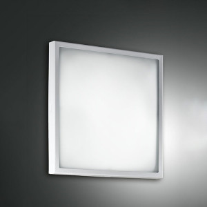 Fabas Luce - Geometric - Osaka PL S LED - Plafoniera quadrata piccola
