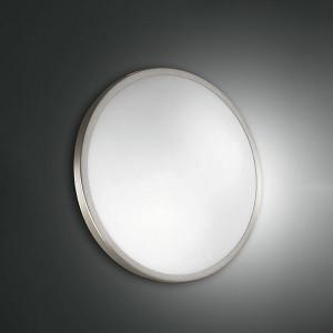 Fabas Luce - Geometric - Plaza PL S LED - Applique e plafoniera di design rotonda piccola