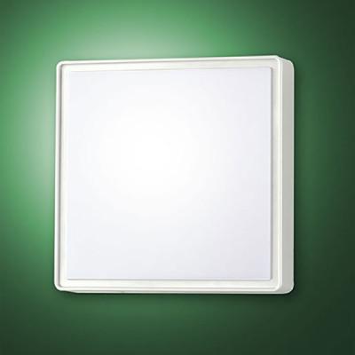 Fabas Luce - Oban - Oban PL LED S - Plafoniera quadrata piccola - Nessuna - LS-FL-3205-61-102 - Bianco caldo - 3000 K - Diffusa