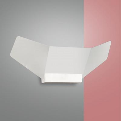 Fabas Luce - Safi - Safi AP LED - Applique di design - Bianco - LS-FL-3476-21-102 - Bianco caldo - 3000 K - Diffusa