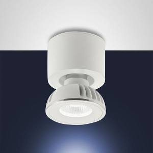 Fabas Luce - Soul - Soul FA 1L - Plafoniera LED con un faretto orientabile