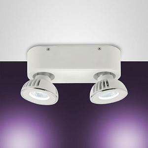 Fabas Luce - Soul - Soul FA 2L - Plafoniera LED con due faretti orientabili