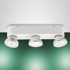 Fabas Luce - Soul - Soul FA 3L - Plafoniera LED con tre faretti orientabili