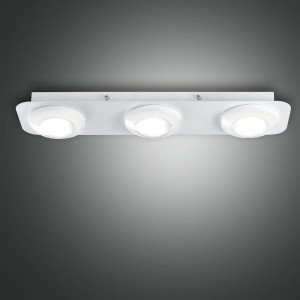 Fabas Luce - Swan - Swan PL 3 S square - Plafoniera con 3 luci a LED