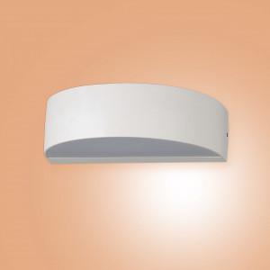 Applique da parete Design Bianco Lampada da esterno Moderno Lampadario NEW 40046
