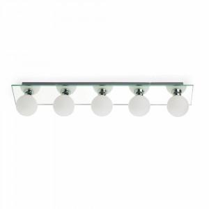 Faro - Indoor - Bathroom - Lass AP PL 5L - Lampada a parete a specchio con 5 luci
