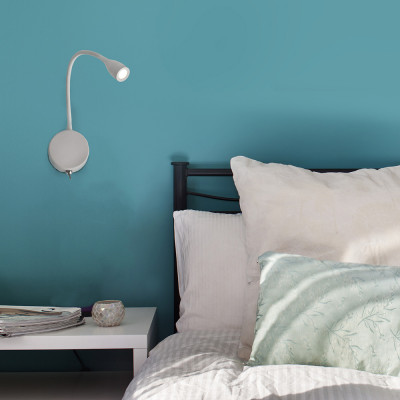 Faro - Indoor - Flexi - Loke AP  LED - Applique a parete con braccio orientabile a LED